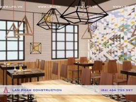Nhà hàng Nhân Sushi – nội thất tầng 2