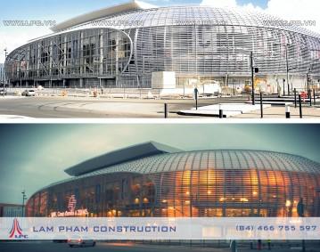 Sân vận động Lille Metropole - LILLE MÉTROPOLE STADIUM