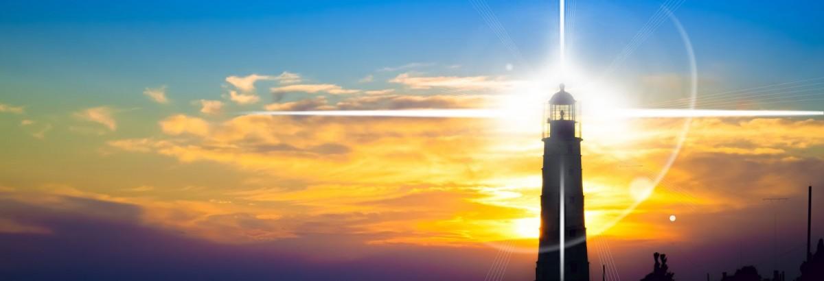lighthouse at sunset Courtesy of  Volodymyr GoinykShutterstockcom_118458736