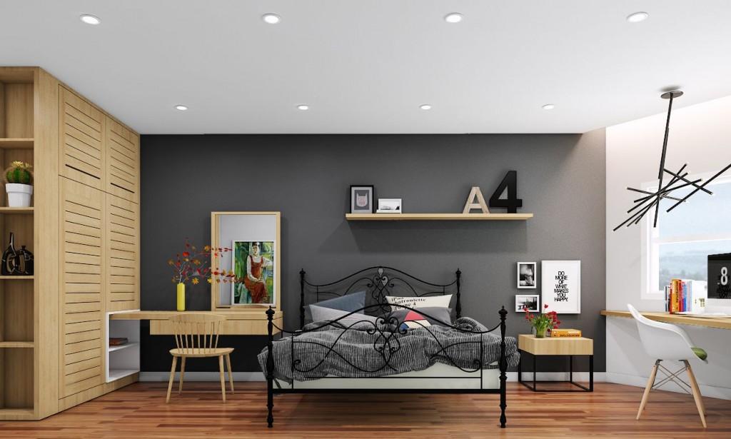 phong cách thiết kế nội thất mix and match