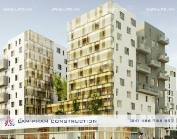 Chung cư DOCKS SAINT OUEN - DOCKS SAINT OUEN Building