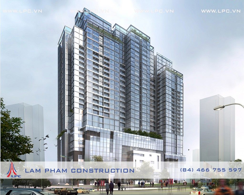 Tổ hợp chung cư cao cấp - Premium apartment complexe