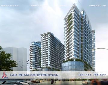 Tổ hợp chung cư, văn phòng, khách sạn - Building, office, hotel complex
