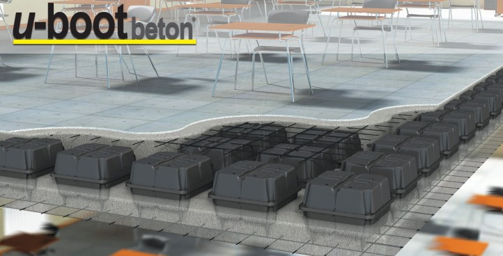 U-BOT (UBOOT BETON®): HIGH-TECHNOLOGY SOLUTION FOR LIGHT FLOOR