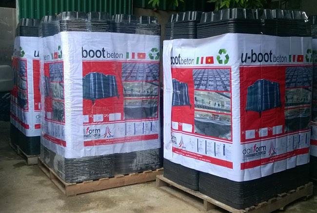 Hình ảnh so sánh sàn nhẹ Ubot và sàn bê tông cốt thép truyền thống 5