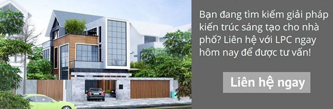 Hình ảnh Thiết kế kiến trúc nhà phố đẹp 4