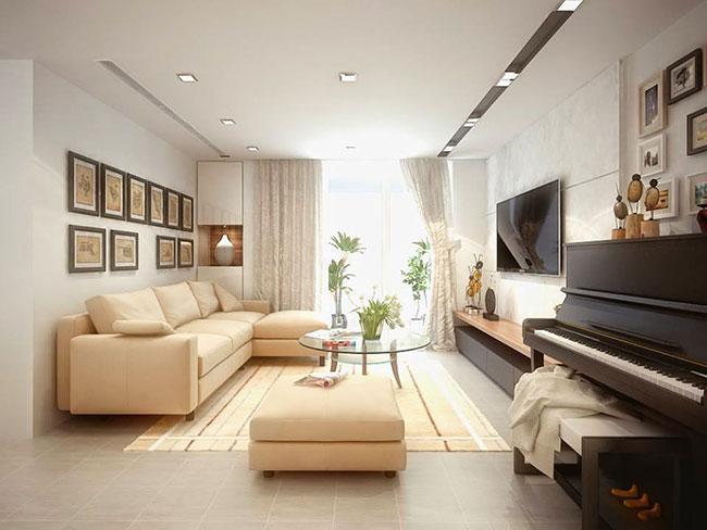 Xu hướng trang trí nội thất phòng khách mới nhất
