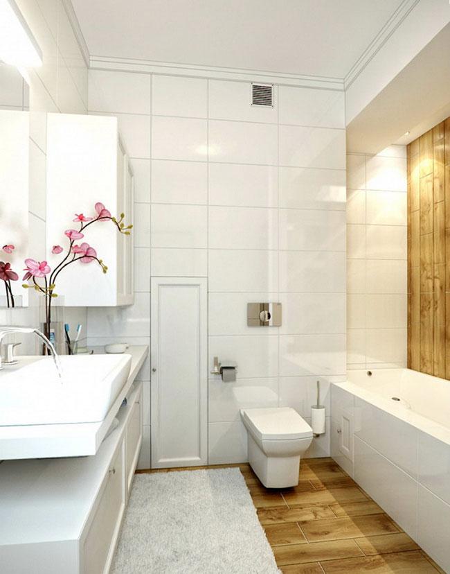 Hình ảnh thiết kế phòng tắm có không gian nhỏ hẹp 2