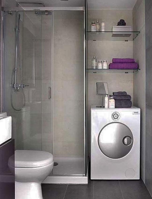 Hình ảnh thiết kế phòng tắm có không gian nhỏ hẹp 3