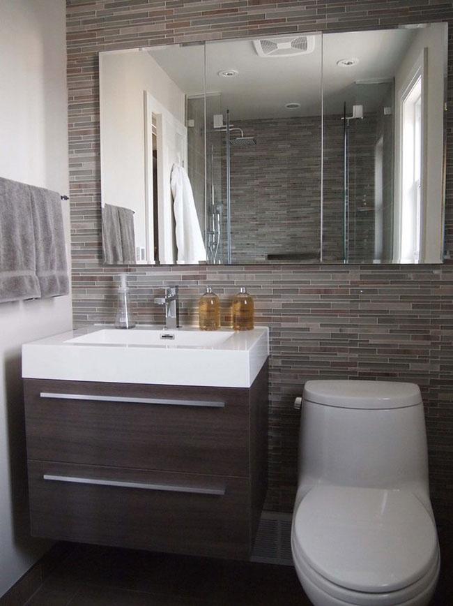 Hình ảnh thiết kế phòng tắm có không gian nhỏ hẹp 4