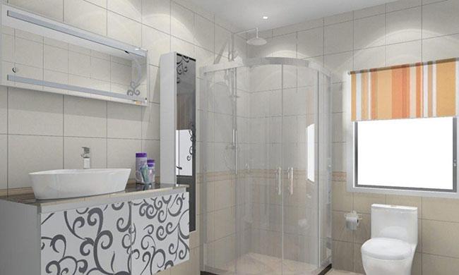 Hình ảnh thiết kế phòng tắm có không gian nhỏ hẹp 6