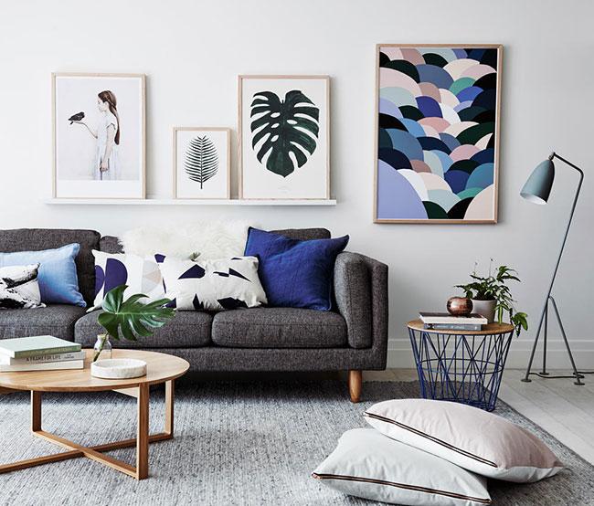 Hình ảnh xu hướng trang trí nội thất phòng khách 5