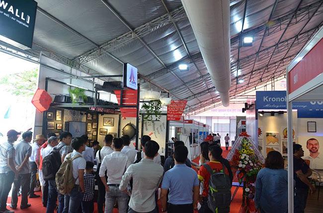 Hình ảnh Công ty TNHH Xây dựng Lâm Phạm tham gia triển lãm Vietbuild Đà Nẵng 3