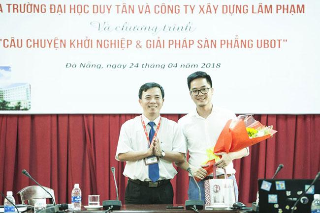 Công ty Xây dựng Lâm Phạm ký kết hợp tác với Đại học Duy Tân 5