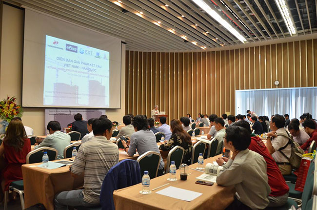 Hình ảnh Diễn đàn giải pháp kết cấu Việt Nam - Hàn Quốc 2