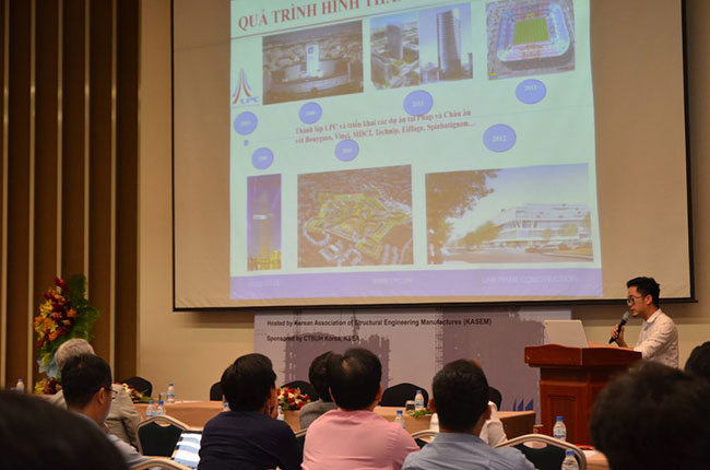 Hình ảnh Diễn đàn giải pháp kết cấu Việt Nam - Hàn Quốc 3