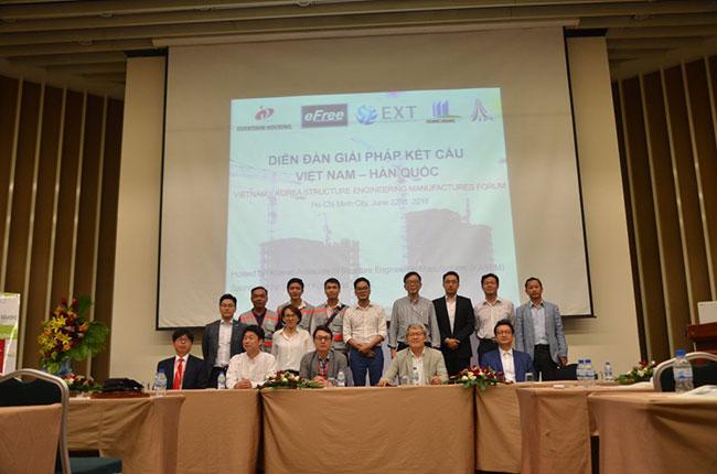 Hình ảnh Diễn đàn giải pháp kết cấu Việt Nam - Hàn Quốc 6