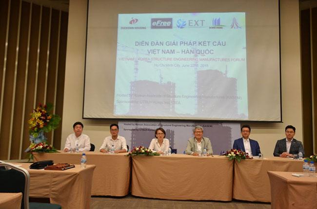 Hình ảnh Diễn đàn giải pháp kết cấu Việt Nam - Hàn Quốc 7