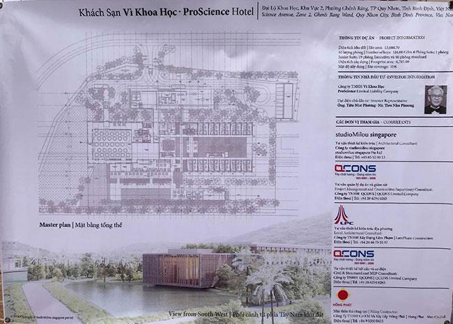 """Hình ảnh Tư vấn thiết kế kiến trúc khách sạn Proscience Hotel """"Vì Khoa học"""" 3"""
