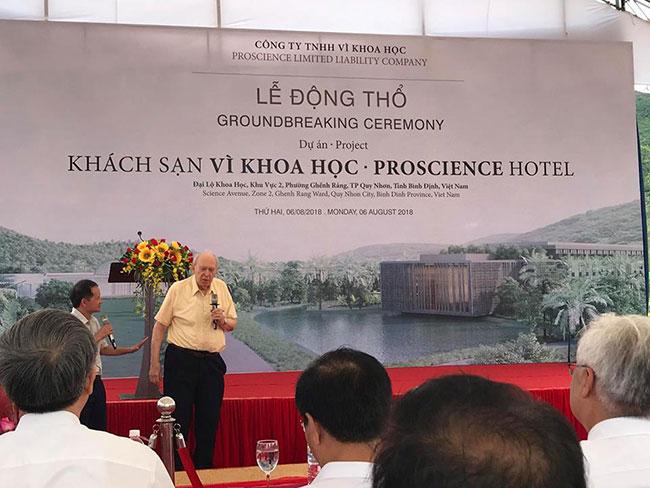 """Hình ảnh Tư vấn thiết kế kiến trúc khách sạn Proscience Hotel """"Vì Khoa học"""" 4"""