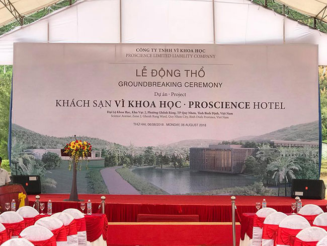 """Hình ảnh Tư vấn thiết kế kiến trúc khách sạn Proscience Hotel """"Vì Khoa học"""" 5"""