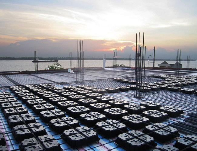 Sàn Ubot – Sàn phẳng nhẹ giải pháp mới trong ngành xây dựng