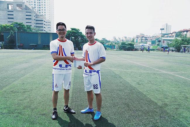 Hình ảnh Lam Pham Construction (LPC) tham gia giải bóng rừng xanh 3