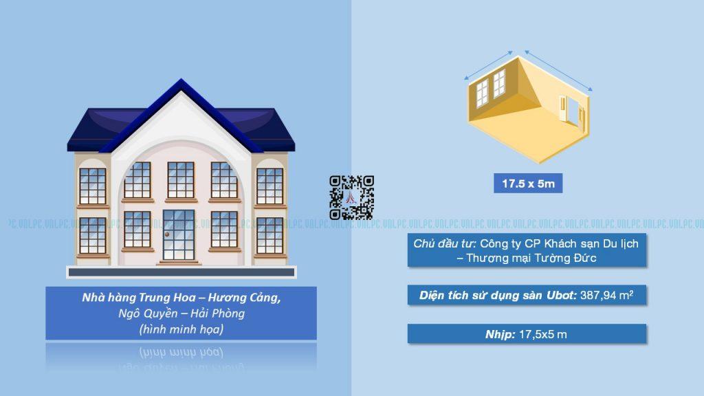 Một điển hình cho tối ưu trong kết cấu của sàn Ubot là khả năng vượt nhịp lớn, nổi bật là dự án nhà hàng Trung Hoa - Hương Cảng, Hải Phòng với mốc nhịp 17.5*5m.   Và đây vẫn chưa phải là Mộc nhịp lớn nhất LPC đã ứng dụng giải pháp Ubot thành công ^^