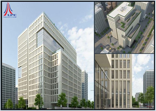 Hình ảnh Dự án PD17 Tòa nhà văn phòng kết hợp bãi đỗ xe thông minh và dịch vụ 1