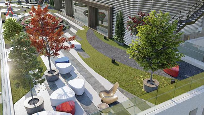 Hình ảnh Dự án PD17 Tòa nhà văn phòng kết hợp bãi đỗ xe thông minh và dịch vụ 3