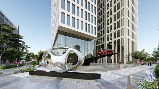 Hình ảnh Dự án PD17 Tòa nhà văn phòng kết hợp bãi đỗ xe thông minh và dịch vụ 4