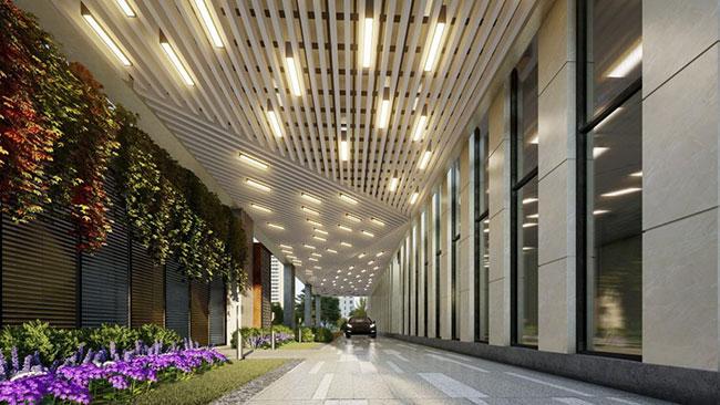 Hình ảnh Dự án PD17 Tòa nhà văn phòng kết hợp bãi đỗ xe thông minh và dịch vụ 5