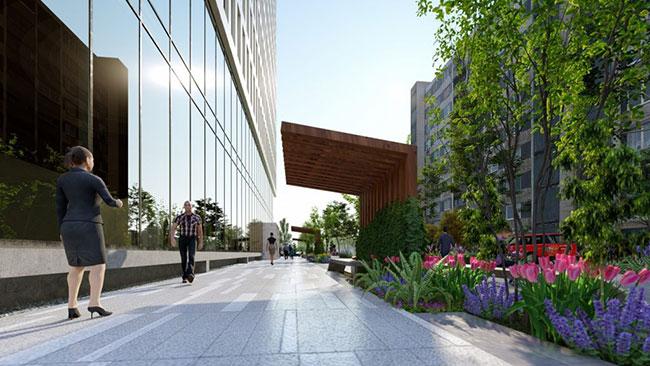 Hình ảnh Dự án PD17 Tòa nhà văn phòng kết hợp bãi đỗ xe thông minh và dịch vụ 6