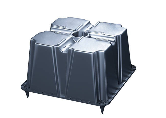 Quy trình sản xuất hộp định hình tạo rỗng UBOT 1