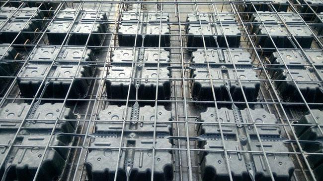 Hình ảnh quy trình thi công sàn phẳng Ubot 4