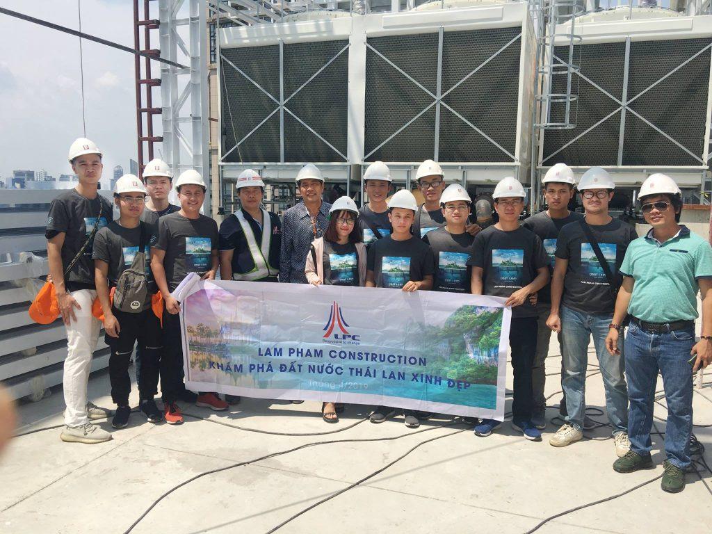 Tuyển dụng nhân sự Công ty TNH Xây dựng Lâm Phạm (LPC)
