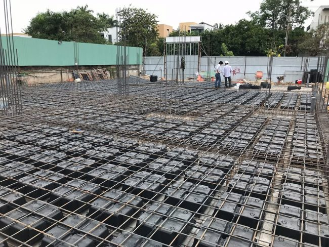 Hình ảnh sàn phẳng không dầm trong công nghệ xây dựng hiện đại 5