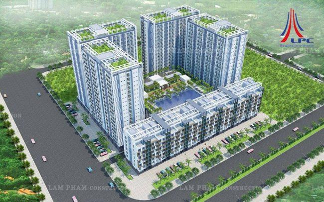 Hình ảnh xây dựng xanh cho các công trình mới trong tương lai 1