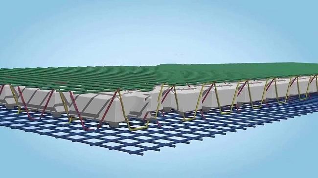 Hình ảnh sàn phẳng không dầm trong công nghệ xây dựng hiện đại 3
