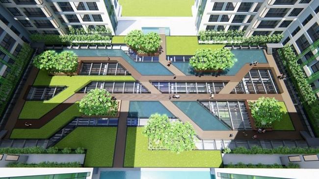 Hình ảnh đẩy mạnh xu hướng xây dựng xanh 2