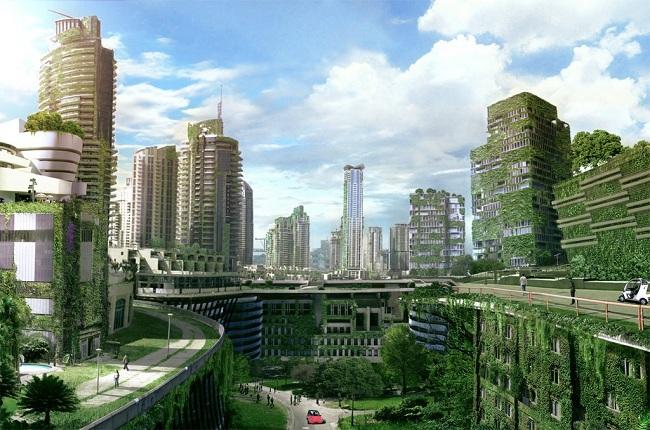 Hình ảnh đẩy mạnh xu hướng xây dựng xanh 3