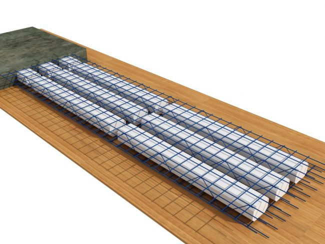 Sàn bê tông siêu nhẹ làm trần nhà tại các công trình xây dựng