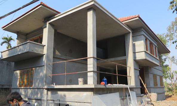 Sàn không dầm được ứng dụng để xây dựng nhà dân.