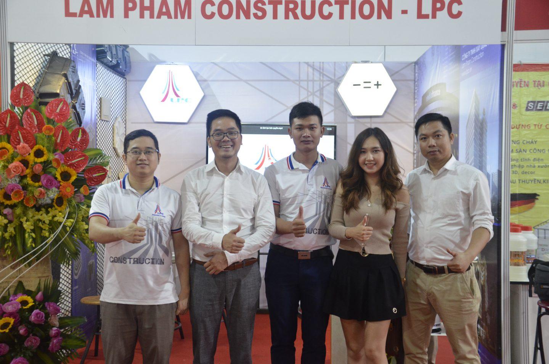 Lam Pham Construction tham gia triển lãm Vietbuild Quốc tế 2020