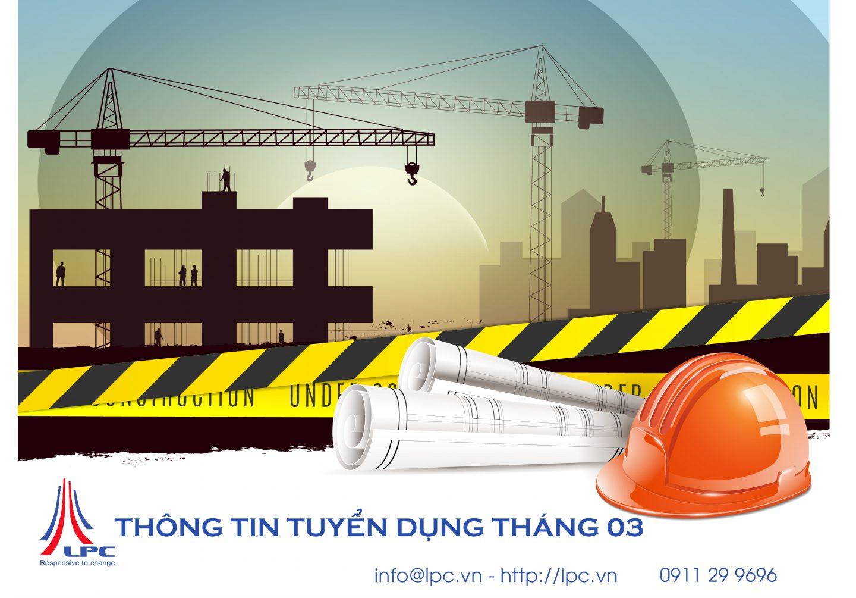 THÔNG TIN TUYỂN DỤNG THÁNG 3/2021