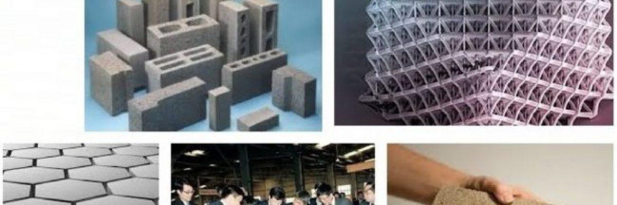Hình ảnh vật liệu xây dựng mới tiết kiệm chi phí